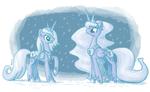Snow Lunas