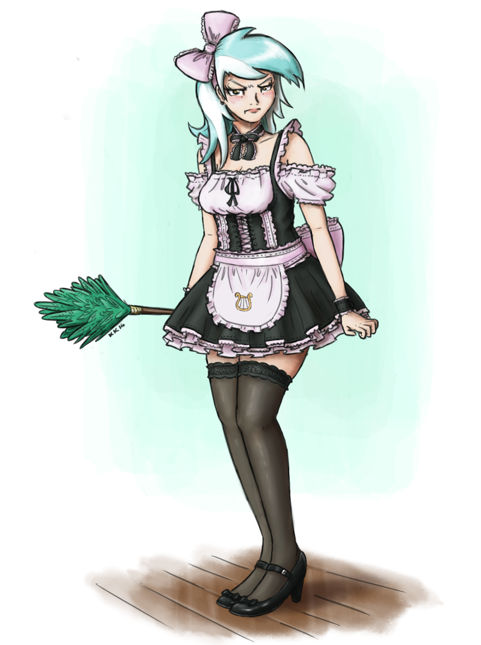 French Maid Lyra By King Kakapo On Deviantart
