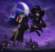 Witch Twi and Elvira Luna by King-Kakapo