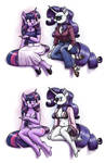 Chatty Anthro Twi and Rarity