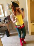 Hawkgirl Selfie