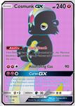 Cosmunk GX (Fakemon Full Art GX Card)