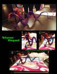 Steven Magnet Wire Sculpure