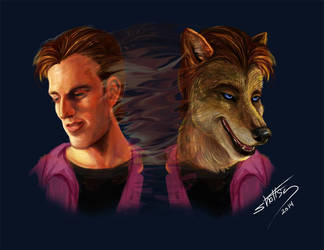 Riley Werewolf Transformation by shottsy85