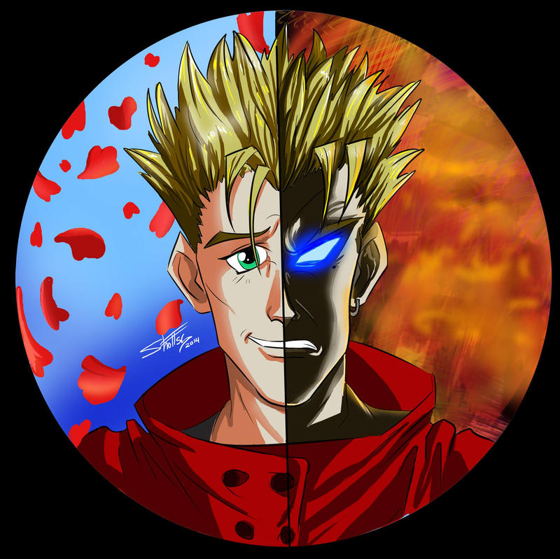 New Vash Button/Print Design by shottsy85