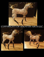 Horse Sculpture by shottsy85
