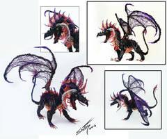 Wire dragon