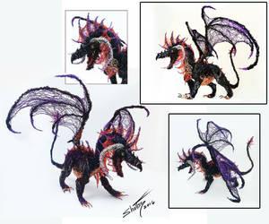 Wire dragon by shottsy85