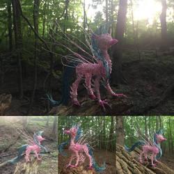 Silivestream Wire Sculpture (SOLD)