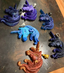 Unicorn pendants