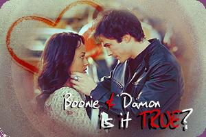Damon and Bonnie by ElficaDraconis