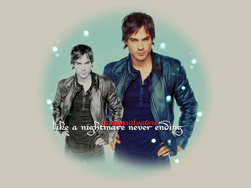 Damon Salvatore by ElficaDraconis