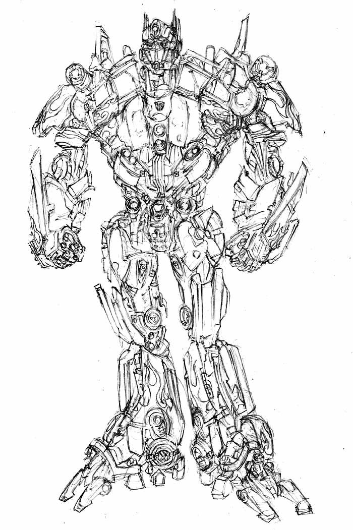 movie optimus prime by phil