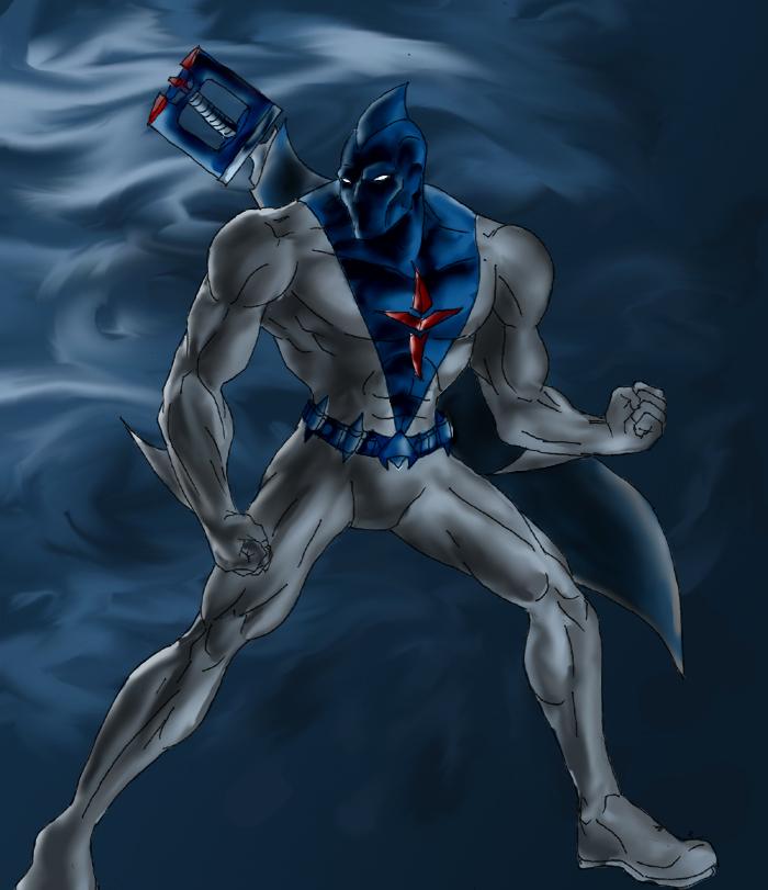 Sharkman art - photo#8