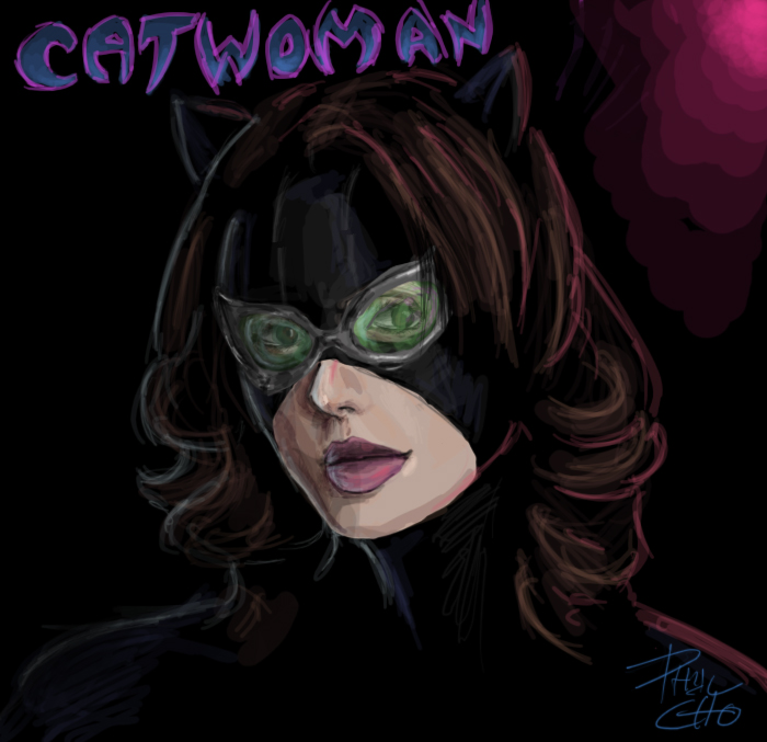 how to make catwoman goggles