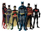 Bat family colored