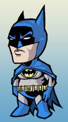 Midget Batman by phil-cho