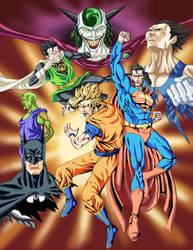Dragon Ball DCU by phil-cho