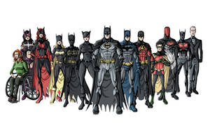 Bat Family NEW