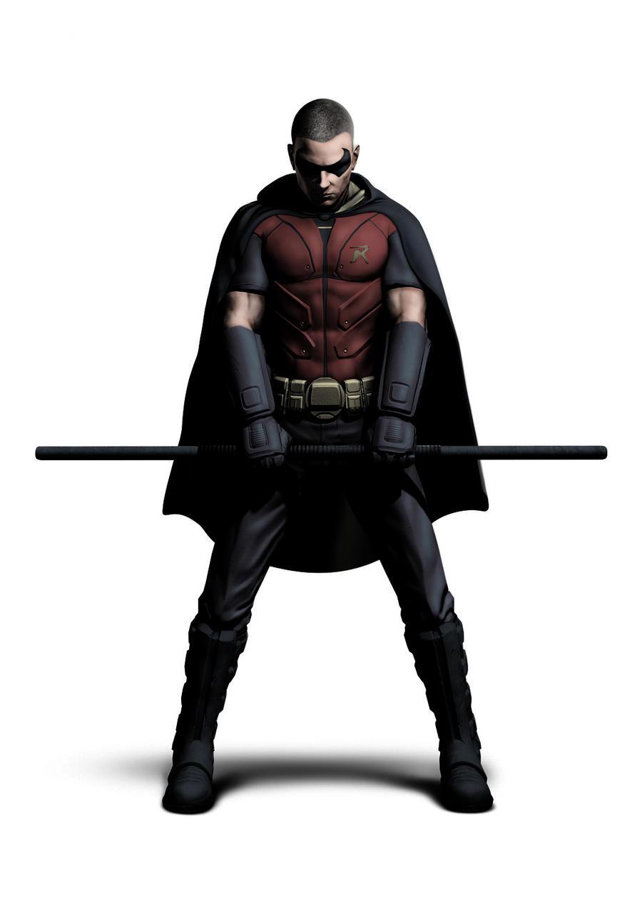 bo staff - robin (arkham city) - Cosplay.com