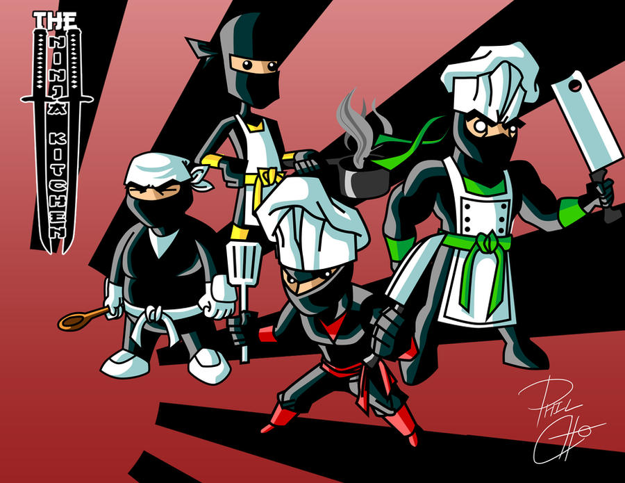 The Ninja Kitchen by phil-cho on DeviantArt