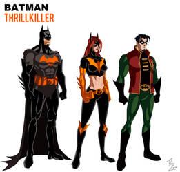 Batman Thrillkiller Animated by phil-cho