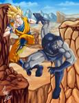 Goku vs. Darkseid