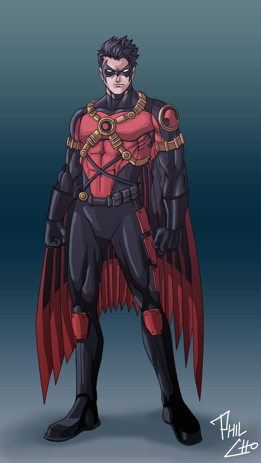 Red Robin - New 52 by phil-cho on DeviantArt