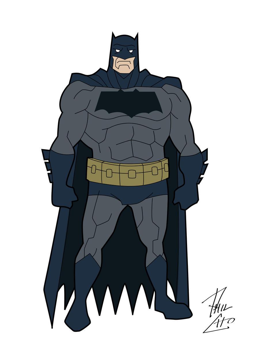 The Goddamn Batman by phil-cho