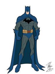 Hush Batman by phil-cho