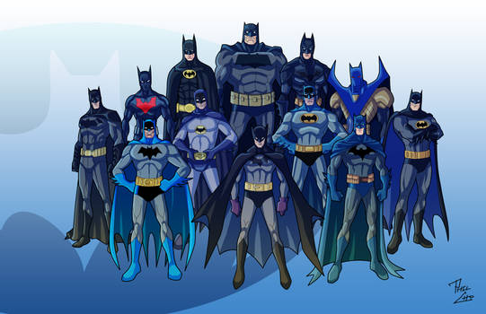 Batman of the Ages by phil-cho