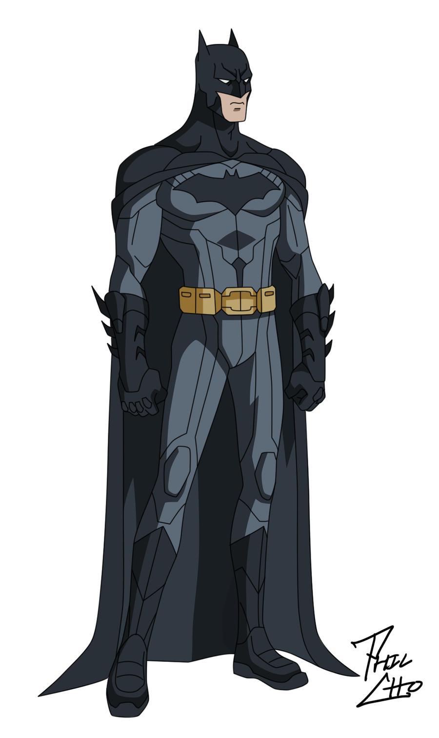 Batman: Bruce Wayne by phil-cho