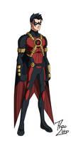 Red Robin: Tim Drake by phil-cho