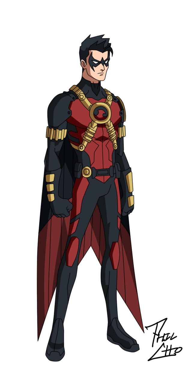 Red Robin: Tim Drake by phil-cho on DeviantArt