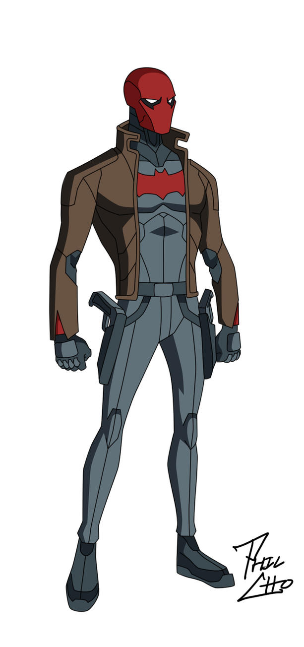 Red Hood: Jason Todd by phil-cho