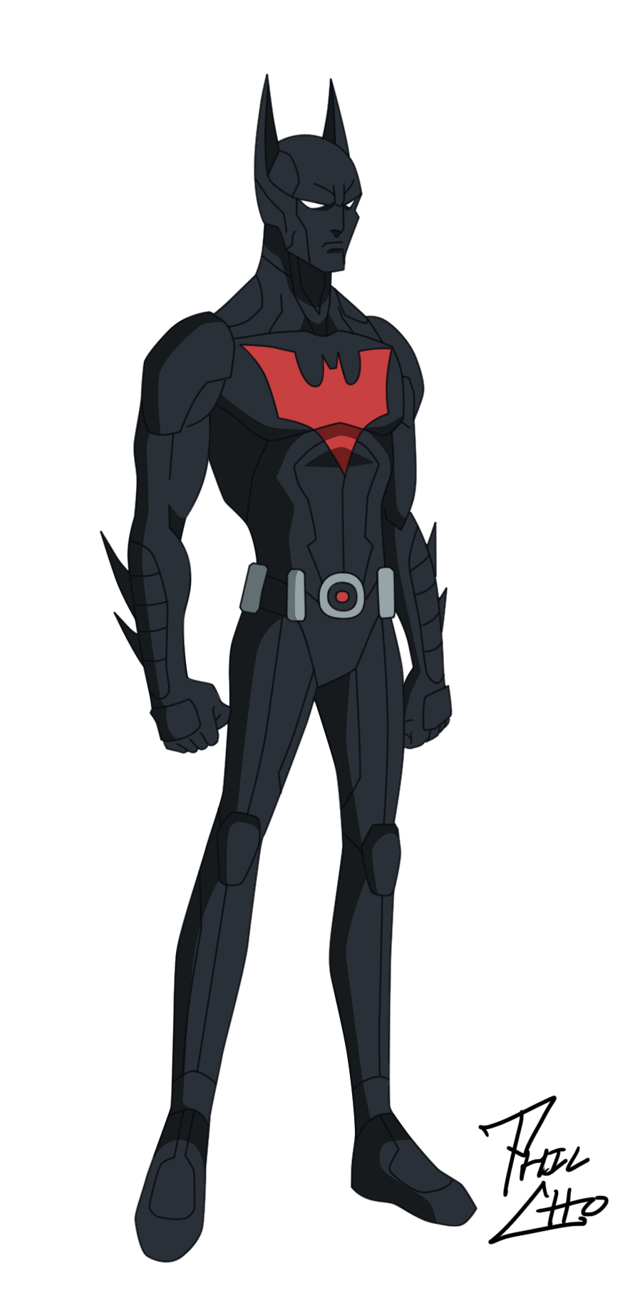 Batman Beyond Terry McGinnis By Phil cho On DeviantArt