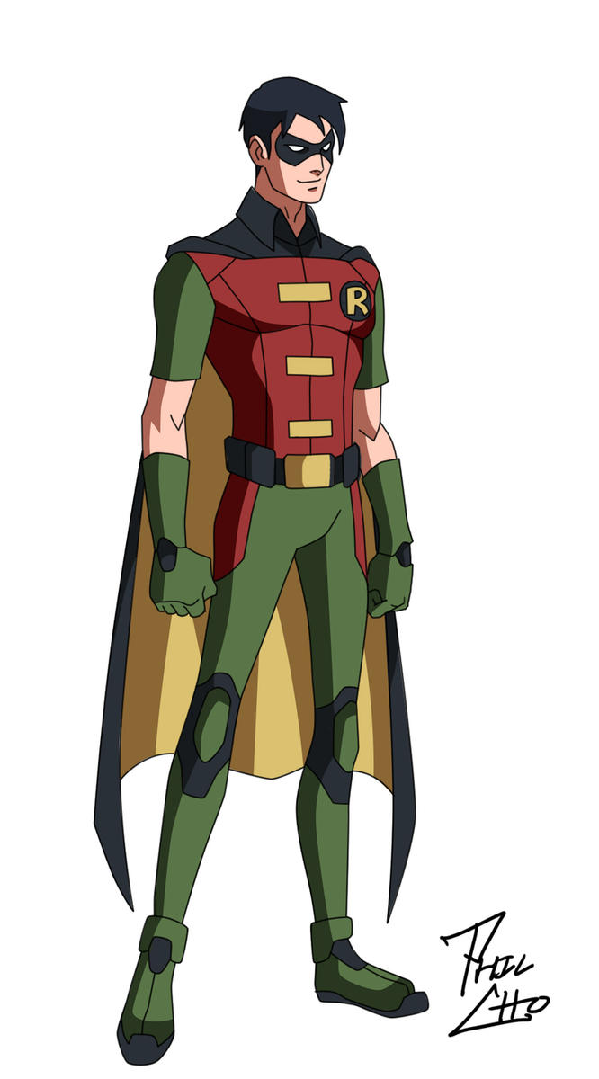 Robin Dick Grayson By Phil Cho On DeviantArt