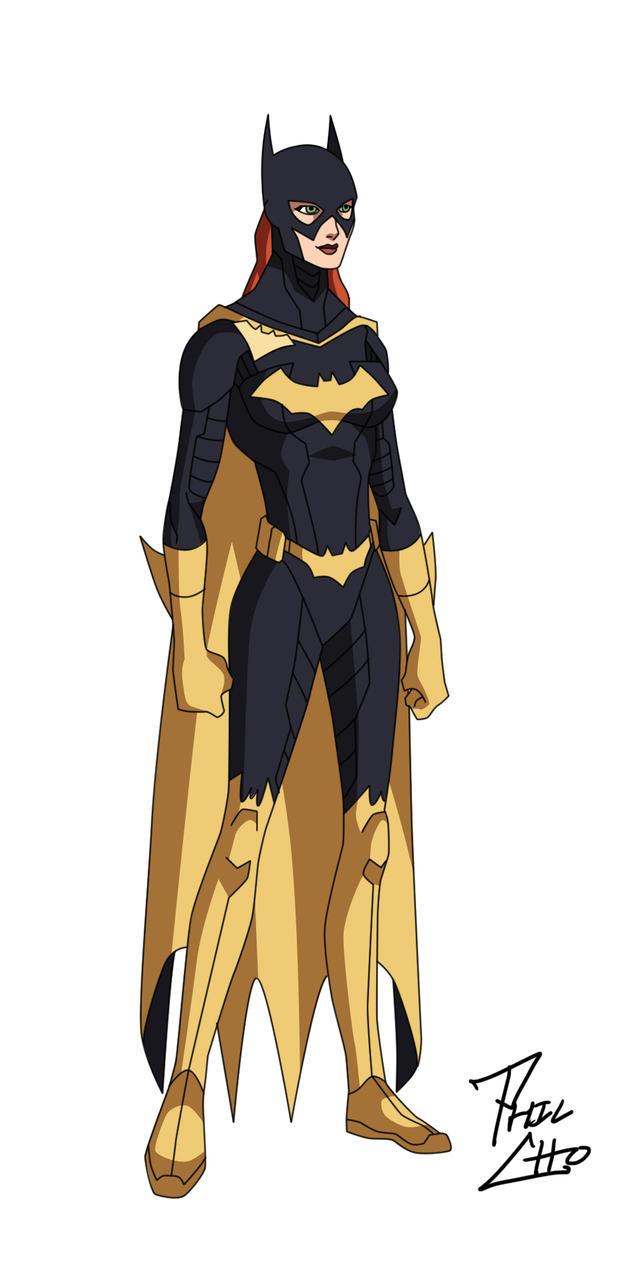 batman the animated series how to draw barbara gordon
