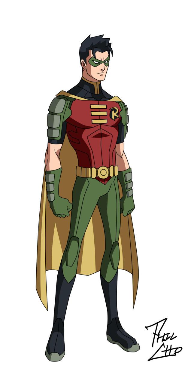 Robin: Tim Drake by phil-cho