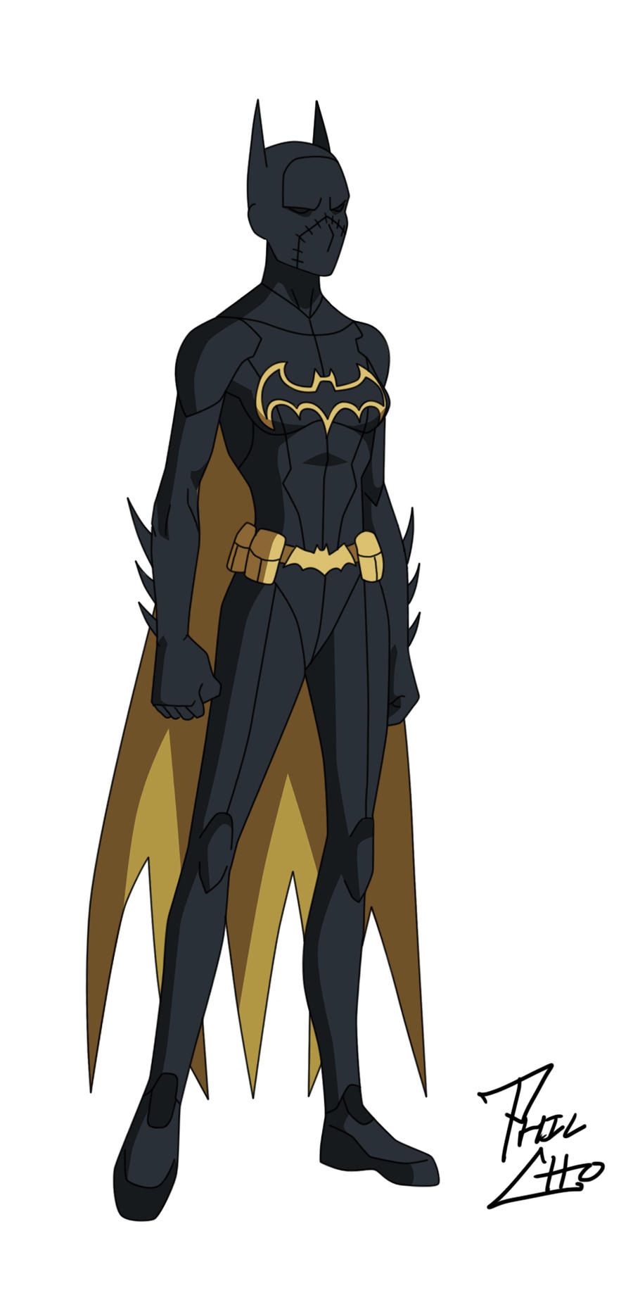 Batgirl: Cassandra Cain by phil-cho