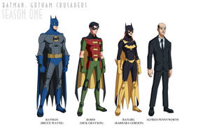 Batman: Gotham Crusaders - Season One by phil-cho