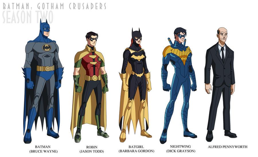 Batman Gotham Crusaders - Season Two by phil-cho ...  sc 1 st  DeviantArt & Batman: Gotham Crusaders - Season Two by phil-cho on DeviantArt