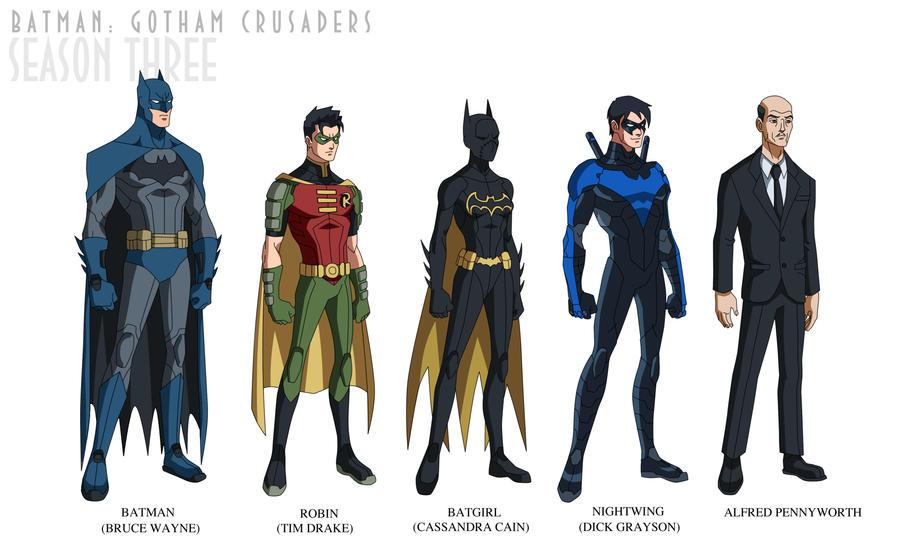 Batman: Gotham Crusaders - Season Three by phil-cho