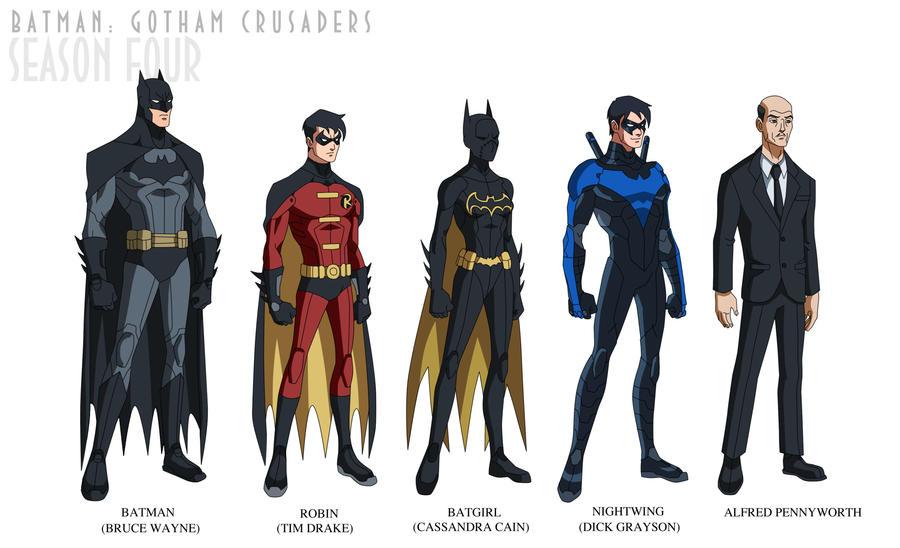 Batman: Gotham Crusaders - Season Four by phil-cho