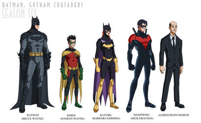 Batman: Gotham Crusaders - Season Six by phil-cho