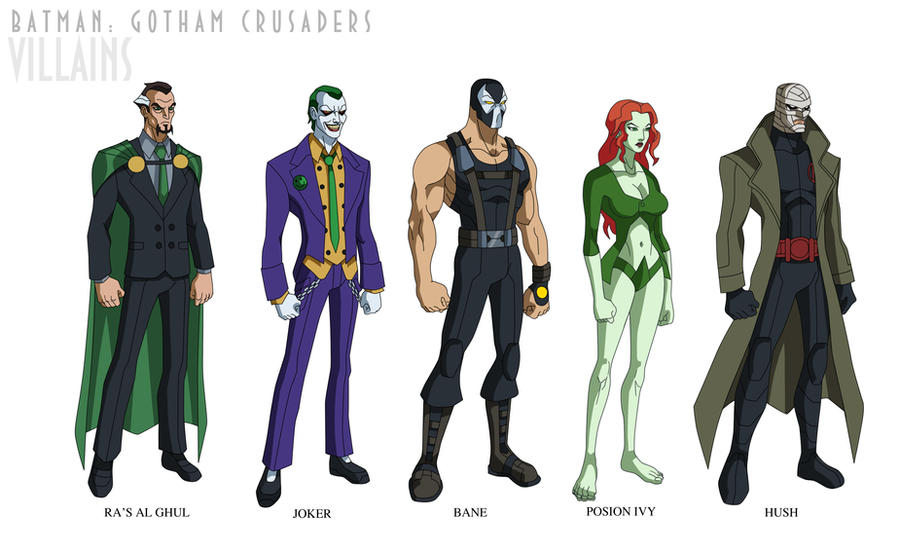 Batman Beyond Villains Batman Gotham Crusaders