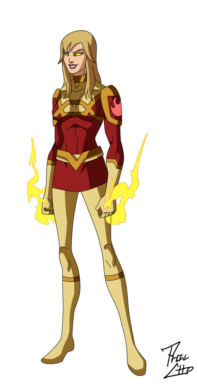 Superhero Character Design Ideas : Firebird oc commission by phil cho on deviantart