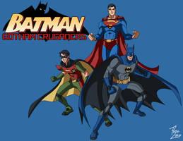 Batman: Gotham Crusaders S1 Teaser by phil-cho