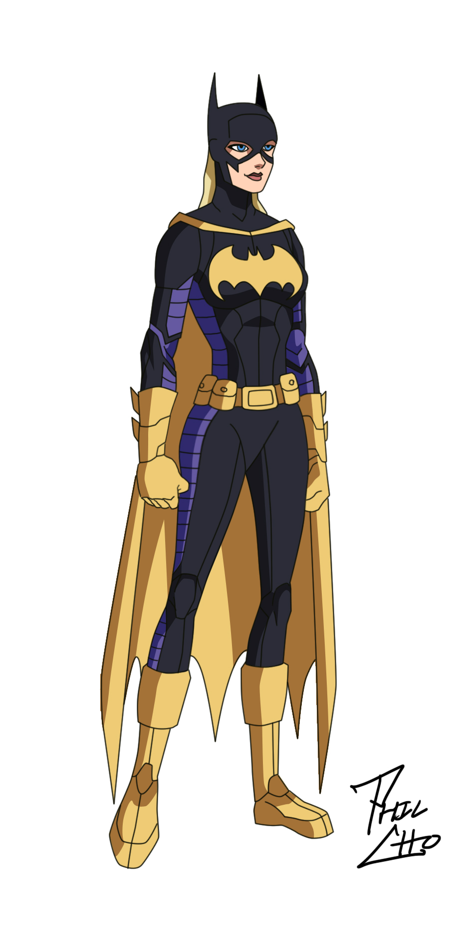 Batgirl: Stephanie Brown by phil-cho