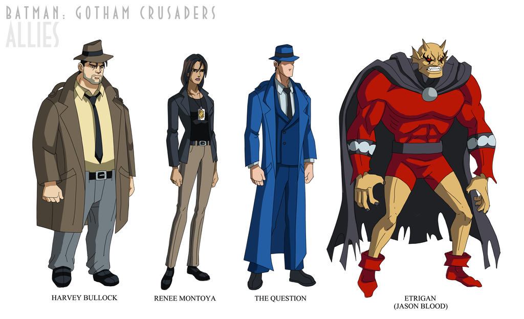 Batman: Gotham Crusade...